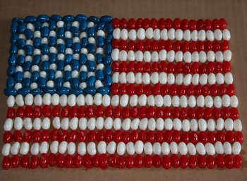 Mosaic American Flag Activity Education Com