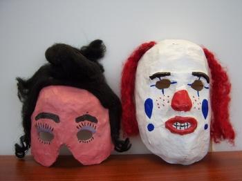 PaperMache Masks Activity