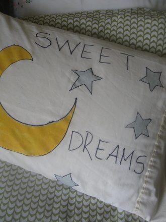 Decorate Your Own Pillowcase