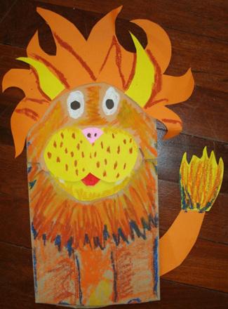 Craft Wild Animal Puppets Activity Education Com