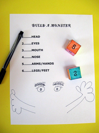 Play the Build a Monster Game