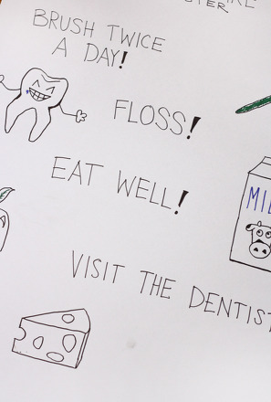 Make a Tooth Care Poster Activity