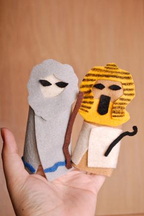Passover Finger Puppets Activity
