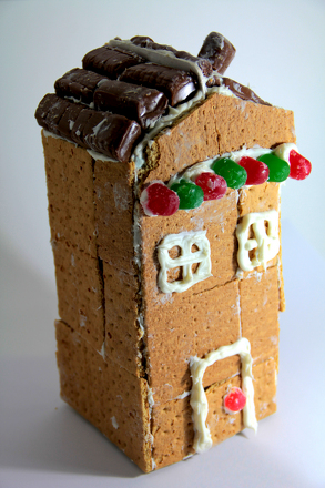 Make a Gingerbread House Activity