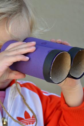 Make a Set of Binoculars Activity Education