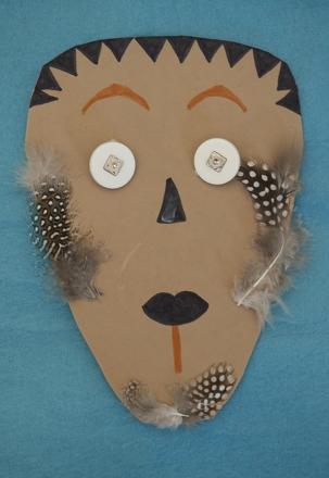 Make an African Mask Activity