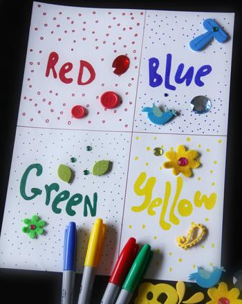Create A Color Collage Activity Education Com