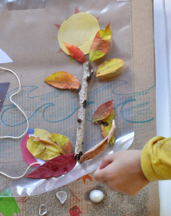 Make a Changing Seasons Collage