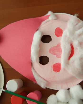 Santa Mask Activity Education