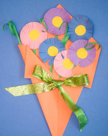 Construction Paper Flowers Activity Education Com