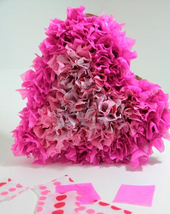 Tissue Paper Hearts | Activity | Education.com