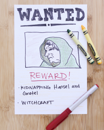 Wanted Poster | Activity | Education.com