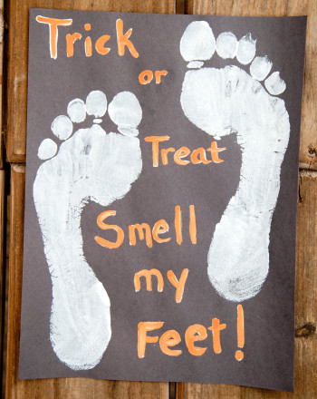 Trick Or Treat Smell My Feet Activity Education Com