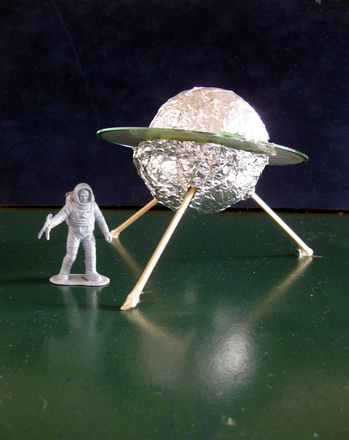 Create a cd spaceship activity for Outer space planning and design
