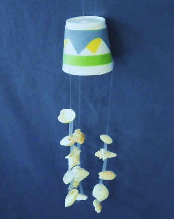 Craft a Seashell Wind Chime Activity
