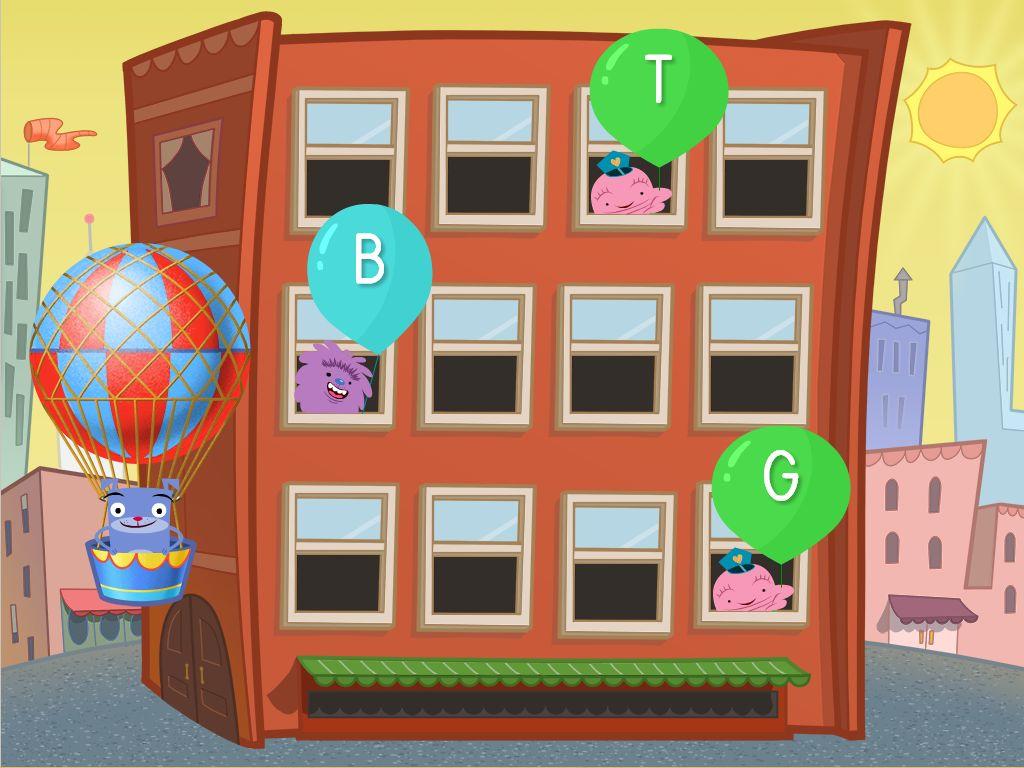 Alphabet Balloon Pop Game Game