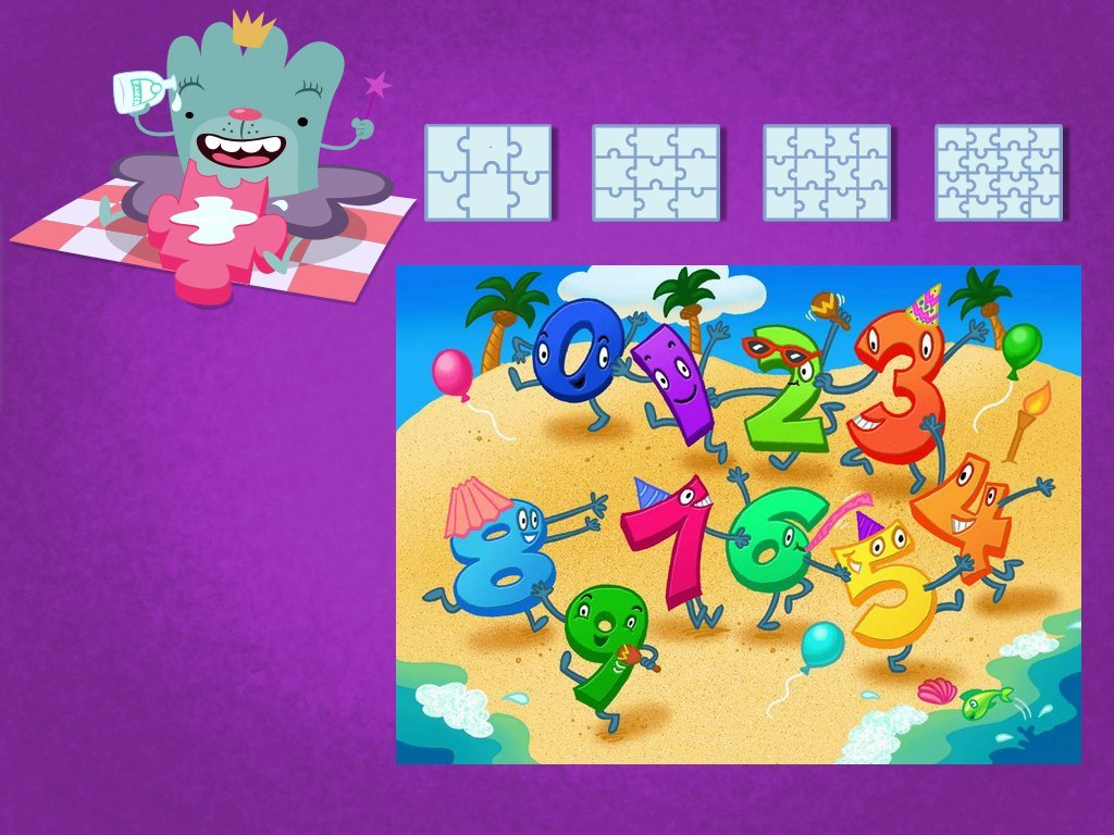 Numbers 1-10 Puzzle Game