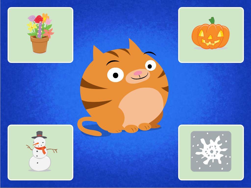 Opposites Preschool Roly s Seasons Quiz
