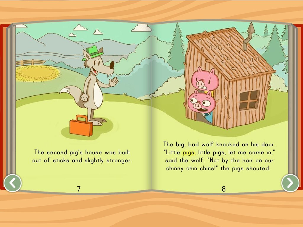 The Three Little Pigs Interactive Story