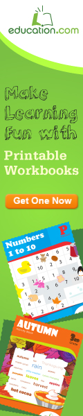 education.com printable workbooks
