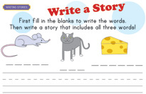 Story Starters Mouse Cat Cheese on Write Letter Penpal China