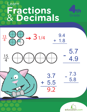 Learn Fractions and Decimals