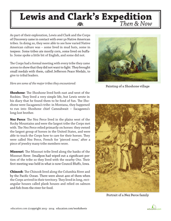 Modest image throughout lewis clark printable activities
