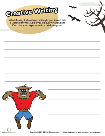 creative writing workbooks