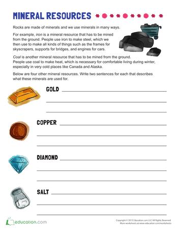 natural resources for kids printable workbook. Black Bedroom Furniture Sets. Home Design Ideas