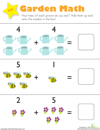 Picture Math: Addition and Subtraction | Printable ...