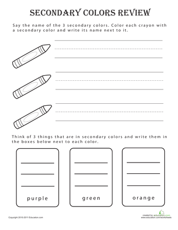 pre reading skills colors printable workbook. Black Bedroom Furniture Sets. Home Design Ideas
