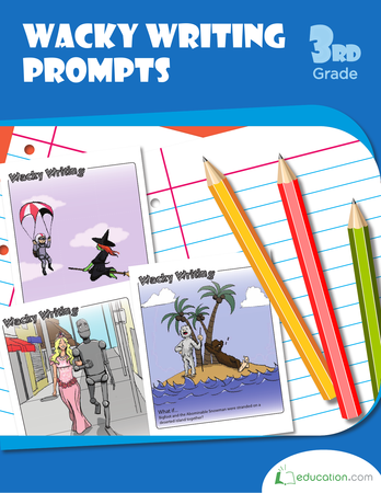 writing prompts about education Use these worksheets to get your kid's pen moving looking down at a blank piece of paper can freeze up young authors, but these fun writing prompts give them a head start.