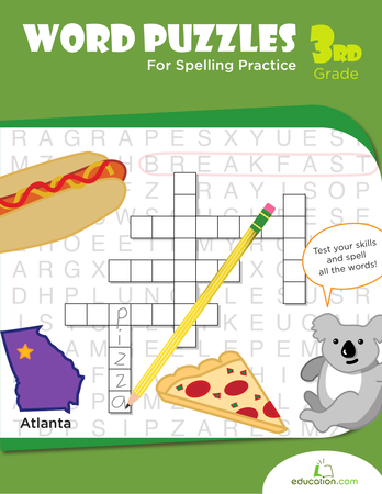 Word Puzzles for Spelling Practice