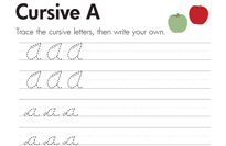 Cursive Letters A-Z   Education.com